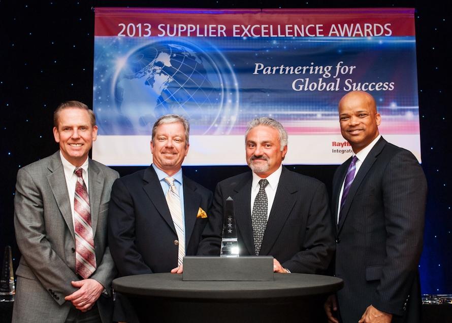 Raytheon Supplier Award