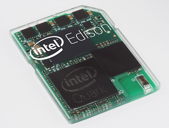 Intel Edison SD Card PC